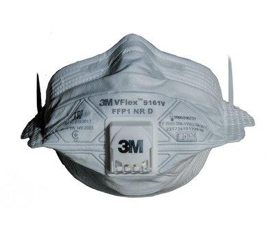 3 vflex 9161v disposable respirator rf